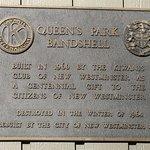 Bandstand Plaque