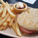 yummy sandwich, amazing fries!!!