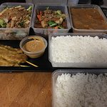 Take away - Fabulous tasting food but quantity less than other local thai restaurants for the sa