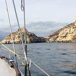 Sailing with Maurizio!
