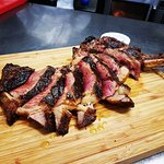 One of our Specials To Share ir for the Hungry 48 day Matured Scotch Rib Eye Various sizes avail