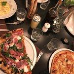 Pâtes gorgonzola / Pizza roquette / Pizza chèvre miel 🍯👌🏻