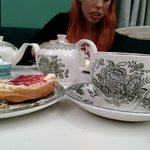 Wellcome Kitchen - Afternoon Tea - The crockery was lovely