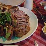 Manx T-bone steak
