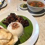 Asian platters, rawon with salted egg, and the award winning sop buntut (oxtail soup)