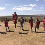 Masai village: Jumping contest to determine who receives the most girlfriends. Their words, not