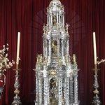 Custodia en Plata de la Catedral de Baeza