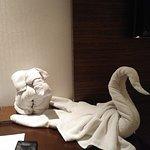 My towel menagerie.