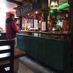The cosy bar at the White Horse