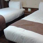 Very comfortable beds, with choice of pillows!!