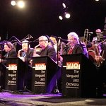 This the Vanguard Jazz Orchestra which performs every Monday.