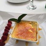 Crème Brûlée (more like crema Catalana). Very deliciosa