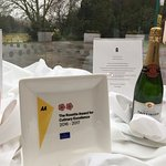 AA Rosette award for culinary excellence 2016-2017