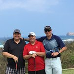 Beautiful day of golf with friends
