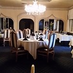 Stately dining room at Melvyn's