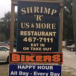 A group of 26 of us drove here for a fantastic buffet of several different kinds of shrimp, chic
