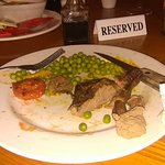 Steak full of gristle & inedible