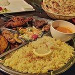 Taste of India thali