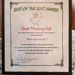 "Voted One of the Most Popular Restaurants in Camarillo 2016 -- ""Best Breakfast"""