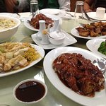Our orders the Peking Duck