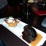 Sticky Toffee Chocolate Pudding (glasses extra!!)