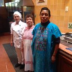 The fine & talented ladies in the kitchen that started our days off with delicious breakfasts!