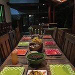 Casa Sara Dinner Outside