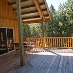 HS Treetop 2 Queen Suite North deck. Hear nothing but the breeze.