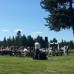 Open meadow great for weddings up to 300. Event fee customized to services needed.
