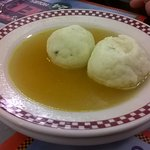 bowl of matze ball soup