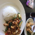 Great Lunch Special-Thai Crispy Chicken and Rice