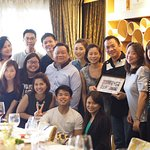 Farewell lunch for Francis & Terence :)
