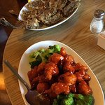 General Tso's Chicken,crispy and tasty