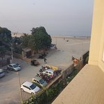 View of Juhu Beach from Room on 3rd floor
