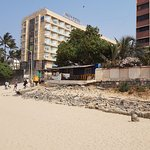 View of Hotel from Juhu Beach