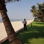 Hotel grounds on Juhu Beach