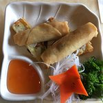 Spring Rolls (2) Appetizer with Duck Sauce