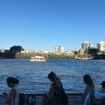 The Brisbane River Foto