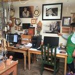 Visitors get a glimpse of the master's studio