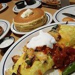 omelette, pancakes, etc