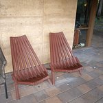 outside chairs..