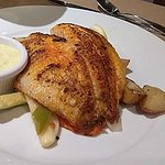 talapia with roasted vegetables