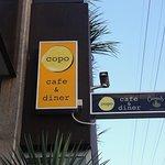 Copo sign on Formosa Street