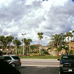 Some of he scenery outside the motel. Loved my stay here.  Beach is wonderful , putt putt golf d