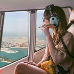 "Don't miss a ""Helicopter Tour"" above Atlantis The Palm"
