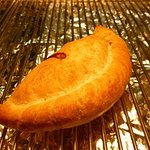 A wonderful Steak pasty. None of our pies or pasties are microwaved. Say NO to soggy pasties!