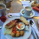 Very nice breakfast.