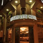 Warm and Welcoming Lobby Entrance of Taksim Line Hotel.