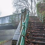 Steps up to Berkeley Avenue Reading from the Kennet