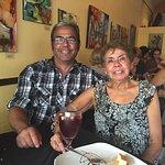 Celebrating my mother's birthday